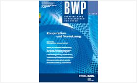 Titelseite der BIBB-Fachzeitschrift BWP Heft Berufsbildung in Wissenschaft und Praxis (BWP)  Heft 1/2009- Kooperation und Vernetzung
